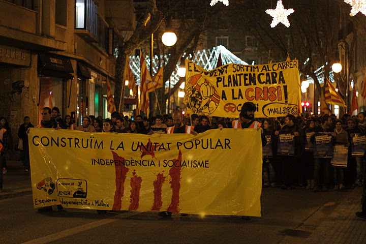 Palma manifestació 30 desembre 2011