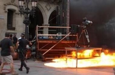 Boicotegen la retransmissió de Tele 5 del partit d'Espanya a Terrassa