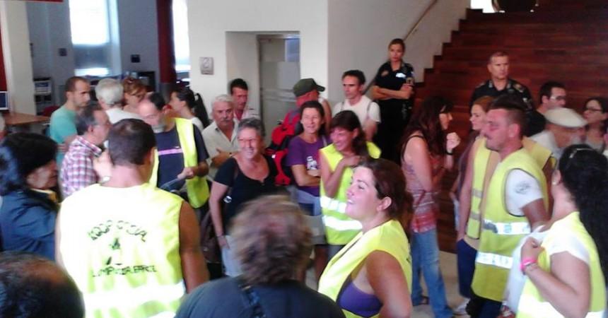 El Parke torna a la càrrega per salvar el conveni de neteja i vint llocs de treball