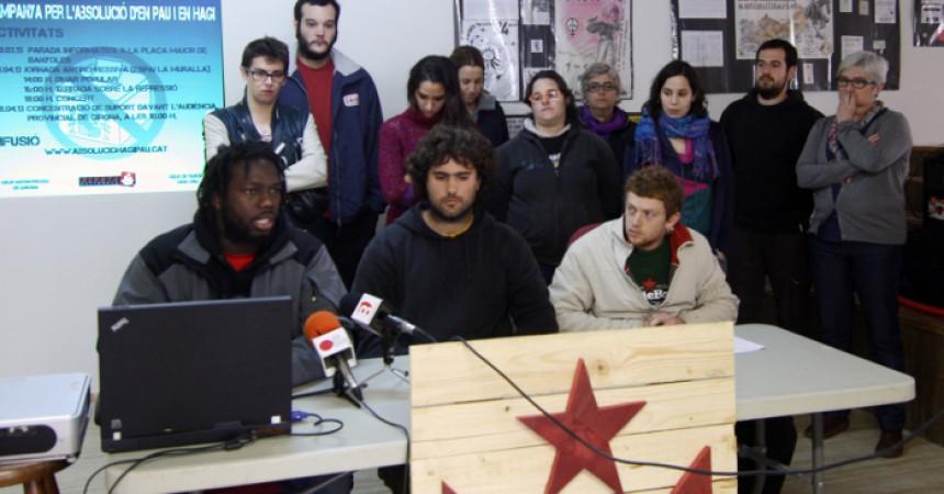 Judici als banyolins Hagi i Pau: 'Si aquesta és la seva democràcia, desobeir-la és la nostra resposta'
