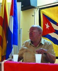 Pedro López en un acte recentment a la UAB