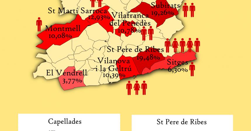 La taca de la unitat popular s'estén al Penedès, Anoia i el Garraf