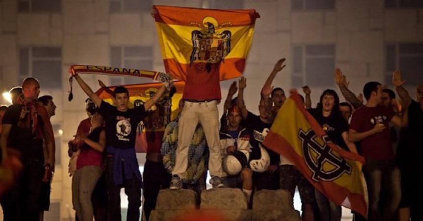 """""""La Roja"""" i els valors patriòtics espanyolistes"""