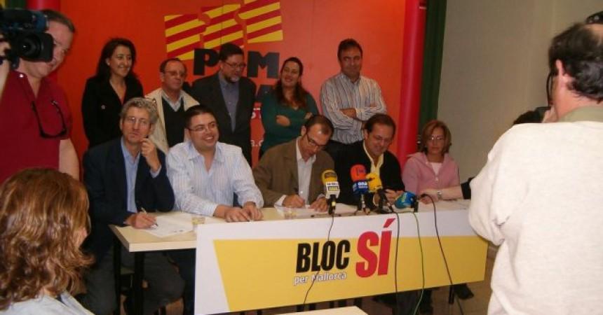 El Bloc per Mallorca es desfà