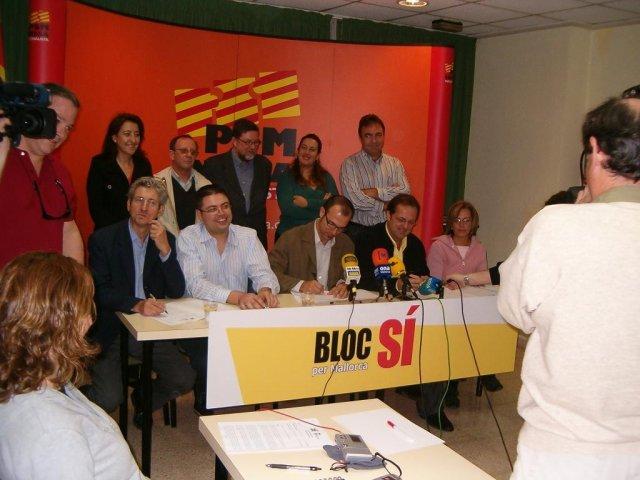 Presentació del Bloc per Mallorca el 2006