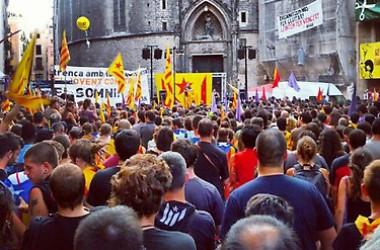 Gran marea per la independència a Barcelona