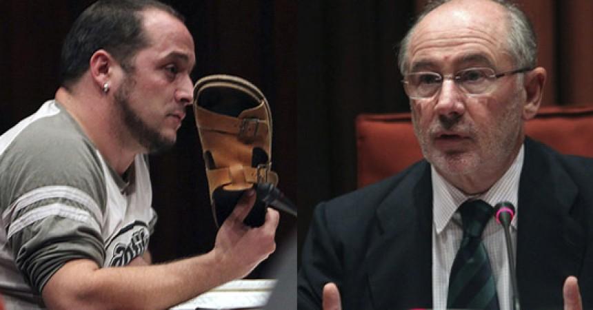 Les preguntes de David Fernández a Rodrigo Rato, més enllà de la sandàlia