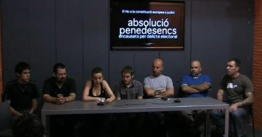 10 penedesencs, jutjats per haver-se manifestat pel 'no' a la constitució europea