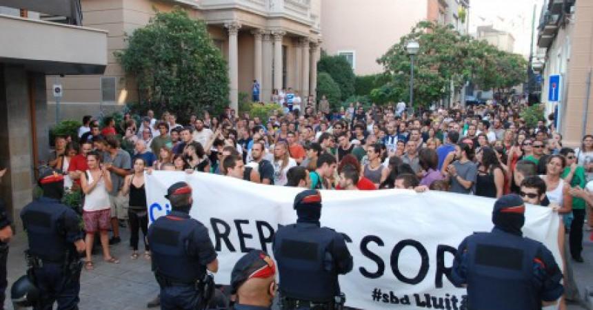 Nova ràtzia contra vaguistes amb 6 detinguts a Sabadell