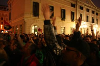 La PAH de Sabadell es fa forta davant el BBVA
