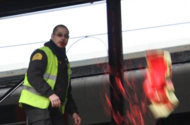 Matí de protestes a la Universitat Autònoma de Barcelona
