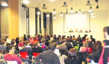 Jornada contra l'Europa del capital i els estats organtizada per Endavant