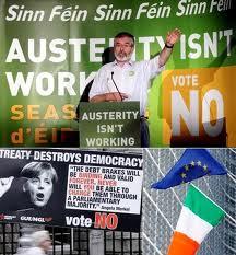 Sinn Fein demanà el No a l'austeritat