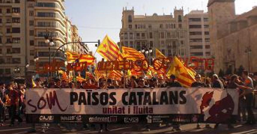 L'esquerra independentista celebra el 25 d'Abril al País Valencià amb força i unitat