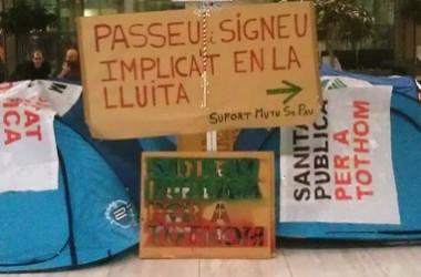 La lluita de l'Hospital de Sant Pau, capdavantera en la defensa de la sanitat pública