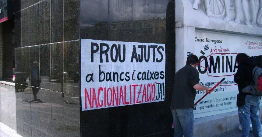 Tarragona es mobilitza per denunciar les conseqüències de la crisi