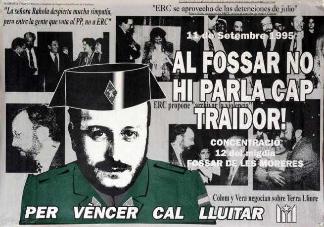 Angel Colom intentà liquidar l'esquerra independentista aprofitant la repressió espanyola