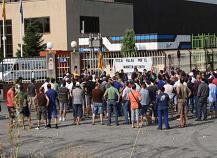 Protesta de la plantilla el 7 de juliol. FOTO: CGT