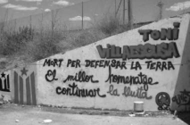 Els independentistes valencians recorden Toni Villaescusa