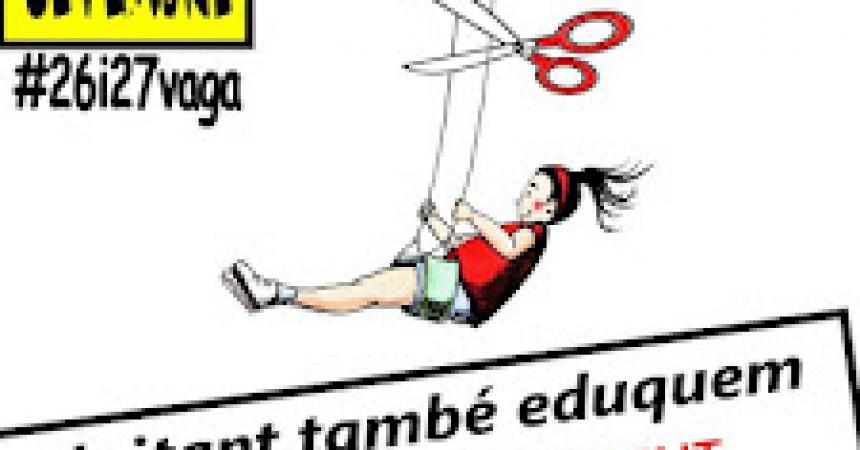 La vaga d'ensenyament continuarà els dies 26 i 27 de setembre