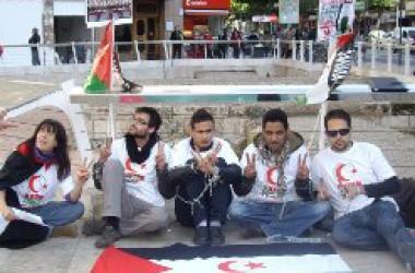 Vaga de fam a València per la llibertat dels presos polítics saharians tancats al Marroc