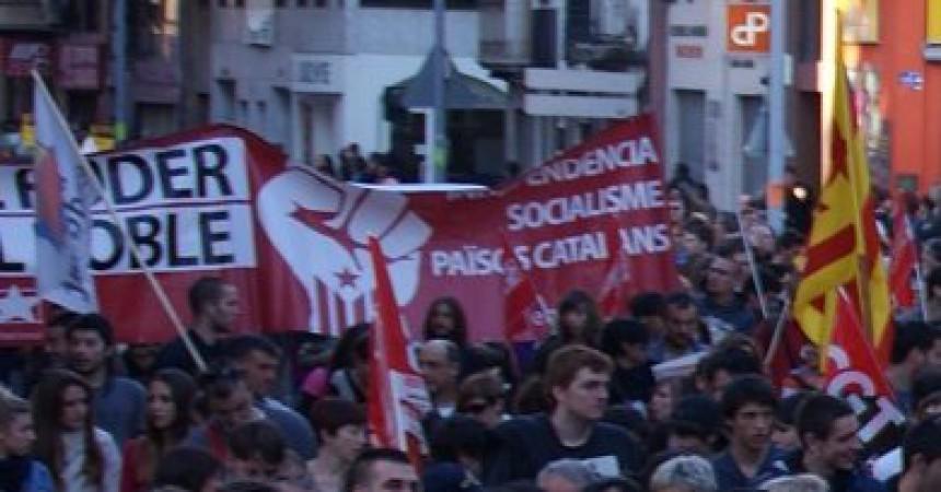 Els enfrontaments de Barcelona tanquen una reeixida jornada de vaga als Països Catalans