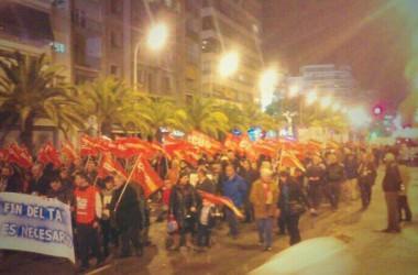 El transport públic alacantí convoca set dies de vaga i de mobilitzacions