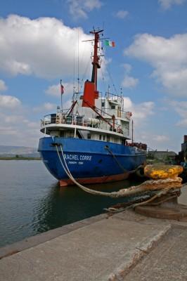 Un dels vaixells que conformen la Freedom Flotilla