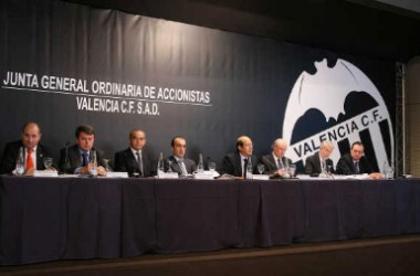 El València CF repartirà dividends entre els seus accionistes malgrat tenir més de 200 milions de deute