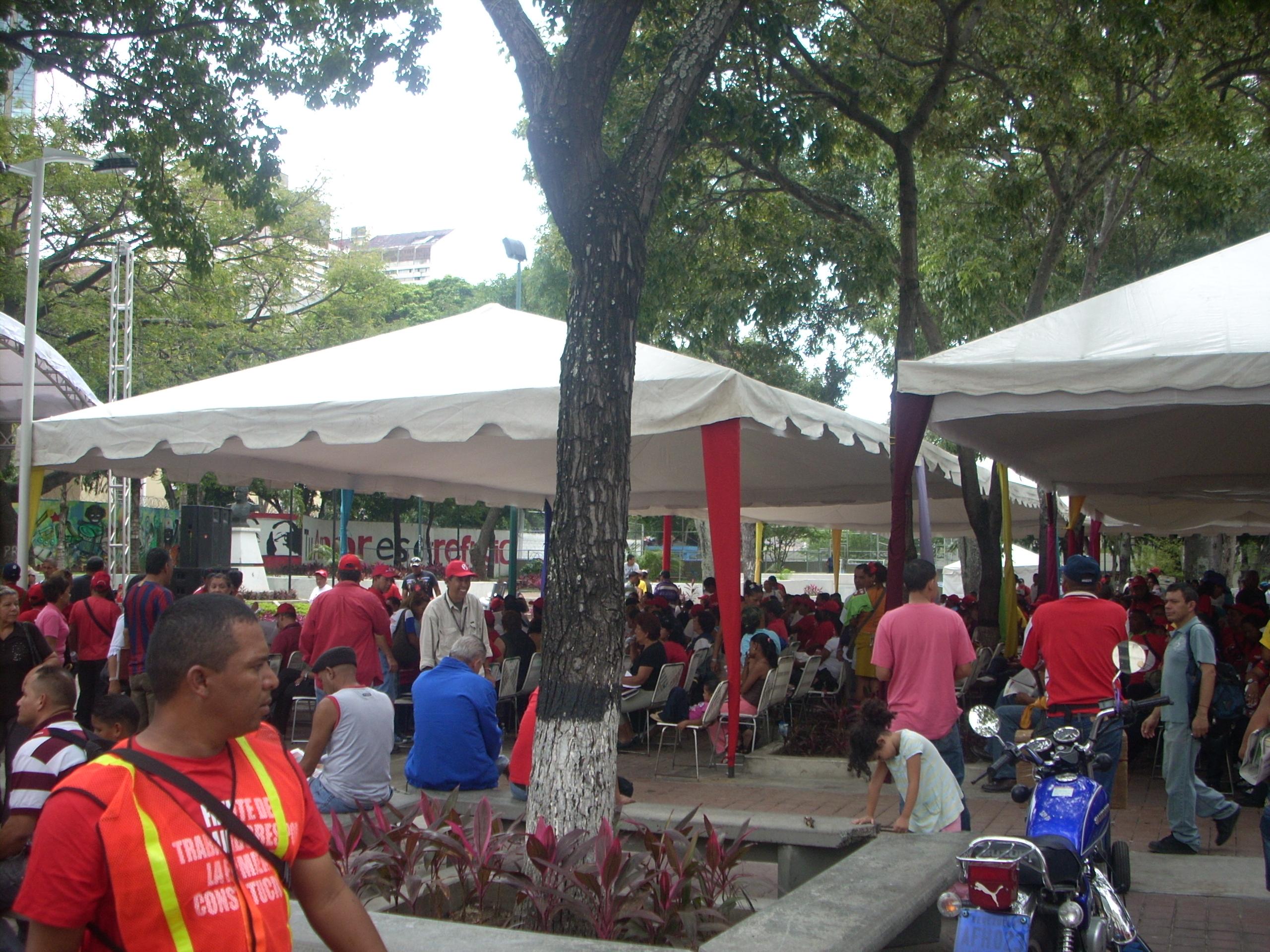 acte public veneçuela