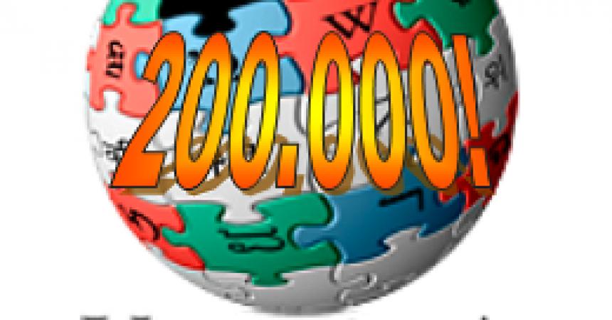 La Viquipèdia catalana arriba als 200.000 articles en català