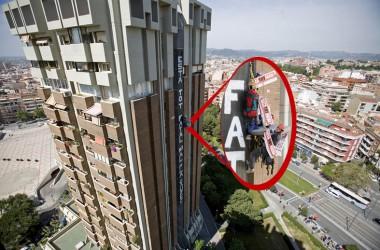 Un activista d'Esplugues podria entrar a la presó per una acció desobedient