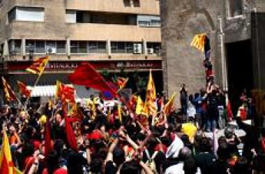 Un centenar d'entitats amb la manifestació del 25 d'Abril