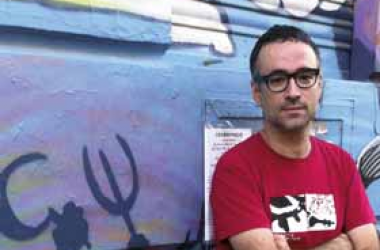 'La llibertat del meu poble i la justícia social són termes intrínsecament relacionats'. Xavi Sarrià