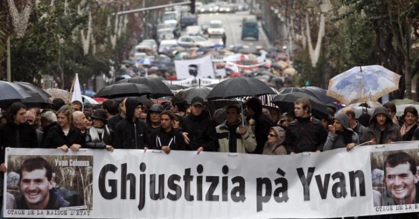 L'independentista cors Yvan Colonna, condemnat a cadena perpètua