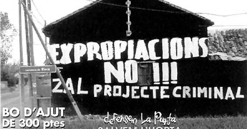 Arranca la ZAL del Port de València sobre la devastada horta de la Punta