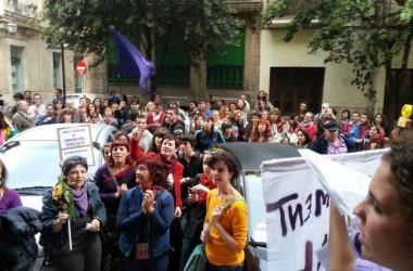 Escarnis feministes arreu dels Països Catalans