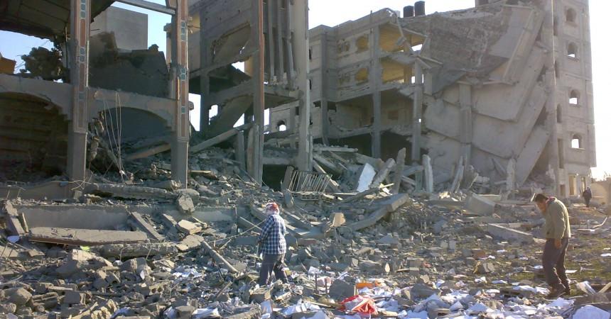 Israel torna a bombardejar la franja de Gaza