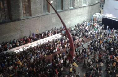 El 10 de setembre Barcelona també es va mobilitzar