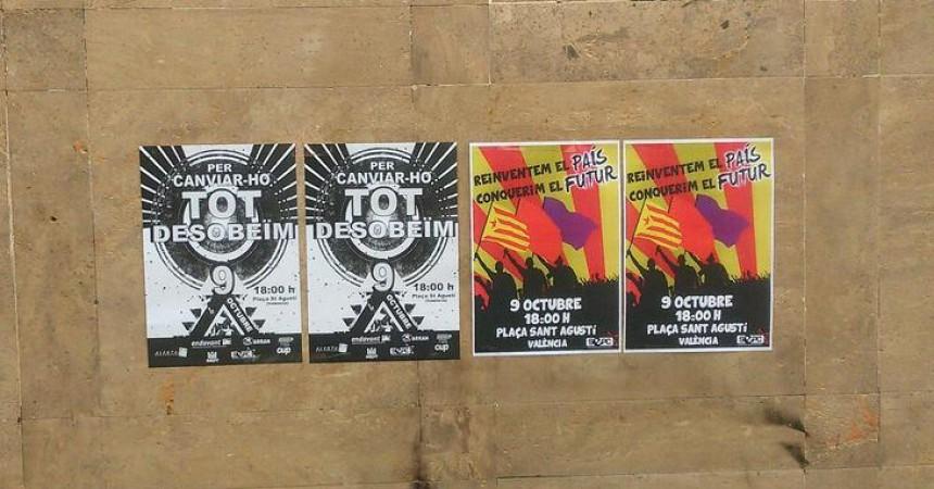 Les mobilitzacions del 9 d'octubre: del tripartit a la desobediència