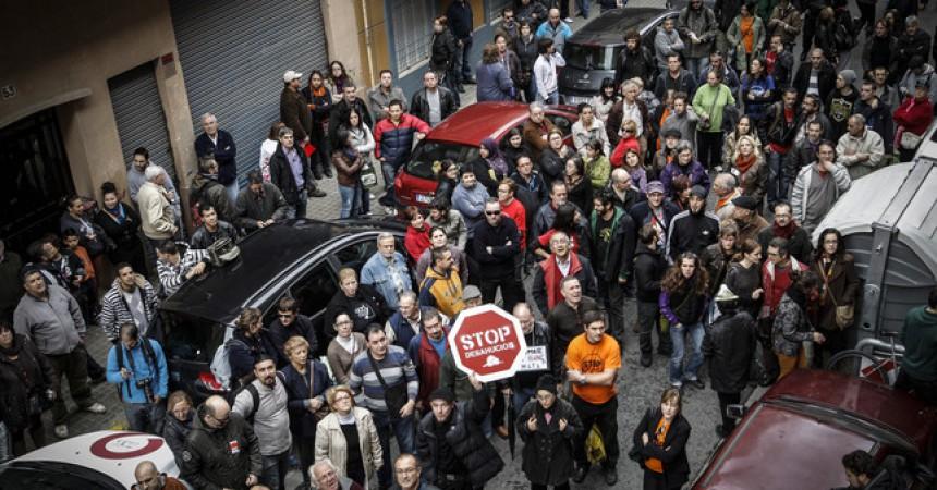 Creixen els desnonaments als Països Catalans
