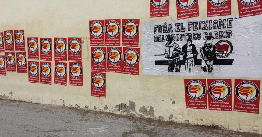 Mobilitzacions antifeixistes contra el Dia de la Hispanitat