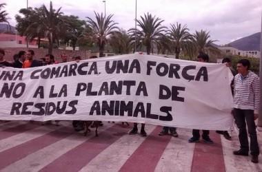 La Vall d'Albaida en peu de guerra contra la planta de residus animals de la Pobla del Duc