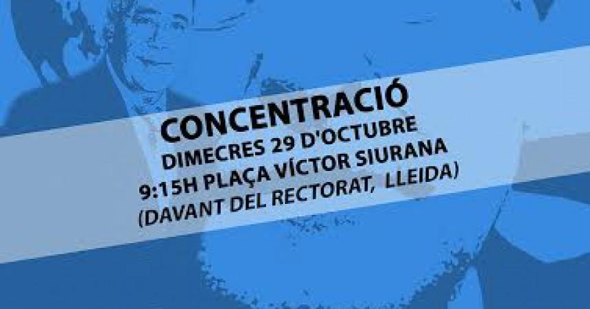 La Marea Blanca i la PUDUP, unides contra el Consorci Sanitari a Lleida
