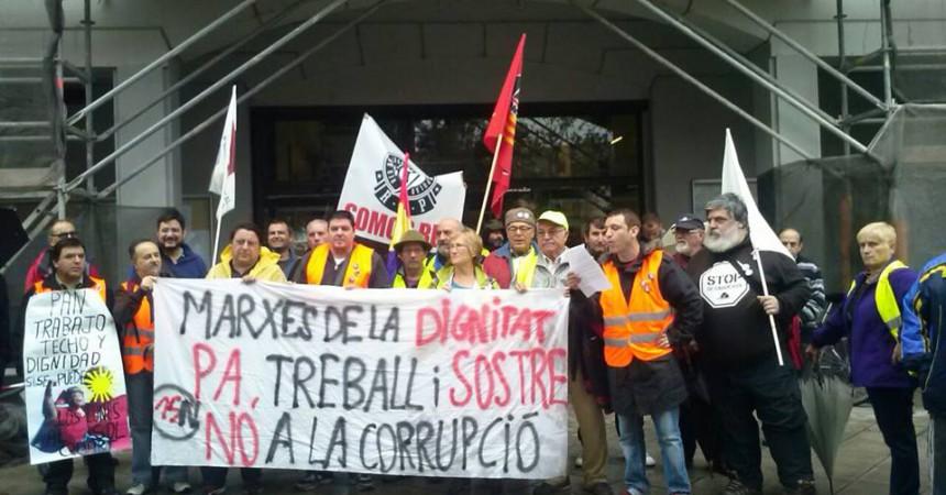 Les Marxes de la Dignitat arriben a València