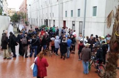Resistència a Nou Barris davant amenaça de 16 desnonaments en un dia
