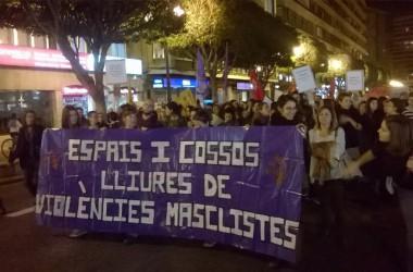 Mobilitzacions arreu dels Països Catalans contra la violència masclista #25N