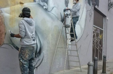 Un gran mural per fer bategar Ciutat Vella