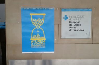 La lluita per la sanitat pública a Ponent convoca una gran manifestació aquest dissabte