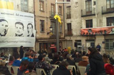 Berga homenatja els tres anarquistes assassinats el 1949
